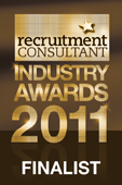 Recruitment Consultant awards finalist
