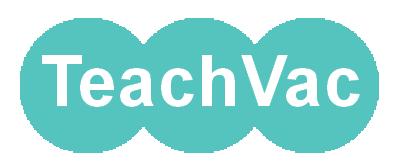 Teachvac on Email logo