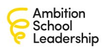Ambition School Leadership - Email logo