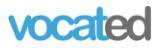 Vocated logo